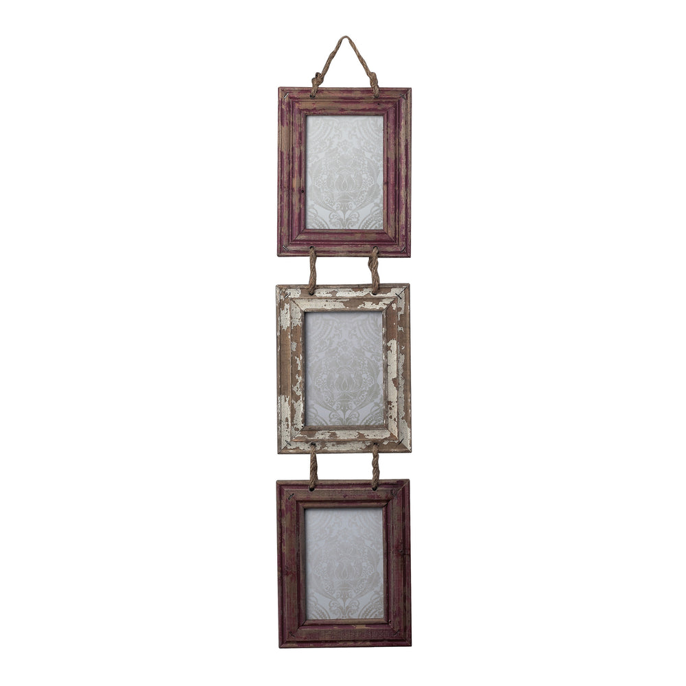 Sterling 128-10264 Set Of Picture Frames With Natural Rope Hanger