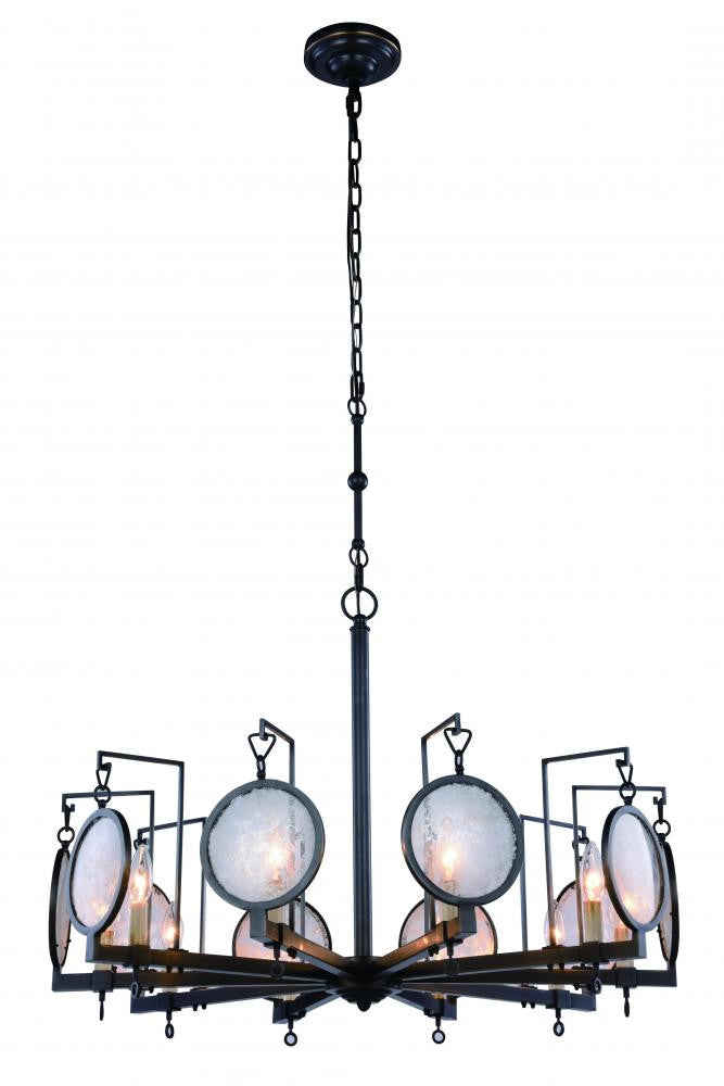 Urban Classic Twilight 10 Light Pendant Model: 1490D32BZ