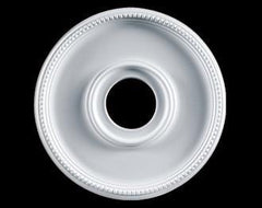 16 in. White Ceiling Medallion