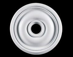 18 in. White Ceiling Medallion