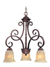 2089-133 Dolan Designs Medici 3 Light Chandelier English Bronze