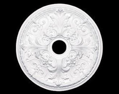 21 in. White Ceiling Medallion