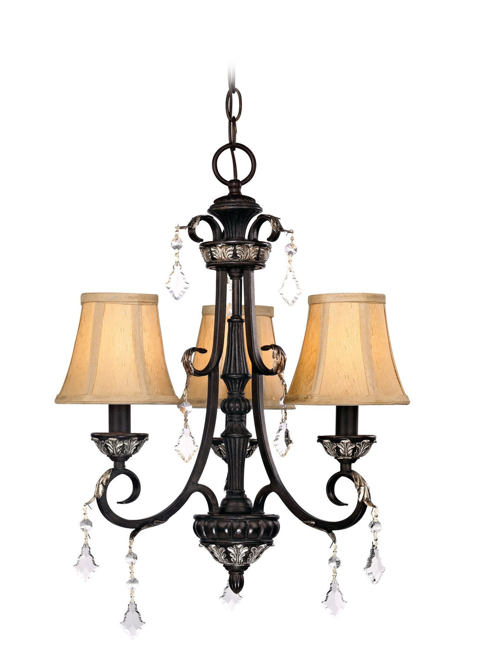 2101-148 Dolan Designs Florence 3 Light Chandelier Phoenix