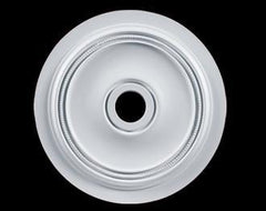 22 in. White Ceiling Medallion