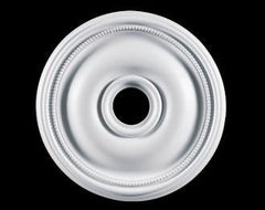 24 in. White Ceiling Medallion