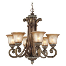 2400-162 Dolan Designs Carlyle 6 Light Chandelier Verona