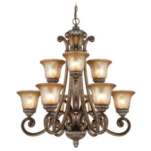 2402-162 Dolan Designs Carlyle 9 Light Chandelier Verona