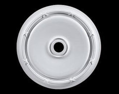 31 in. White Ceiling Medallion