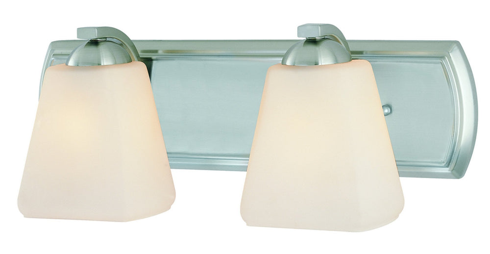3372-09 Dolan Designs Hammond 2 Light Bath Satin Nickel