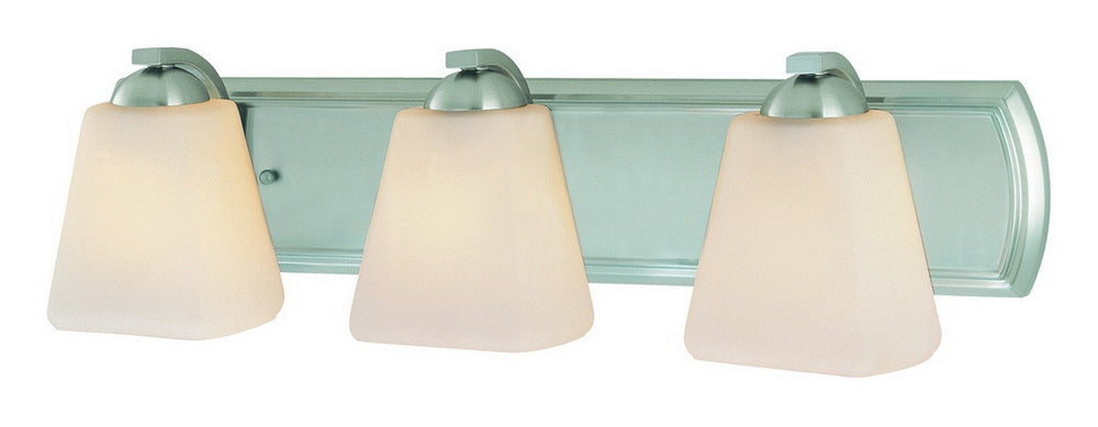 3373-09 Dolan Designs Hammond 3 Light Bath Satin Nickel