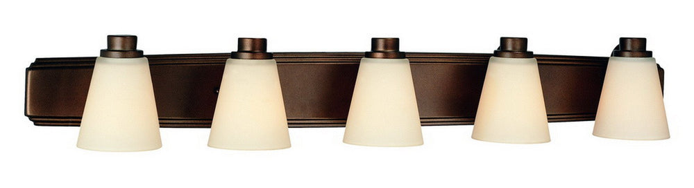 3405-62 Dolan Designs Southport 5 Light Bath Heirloom Bronze