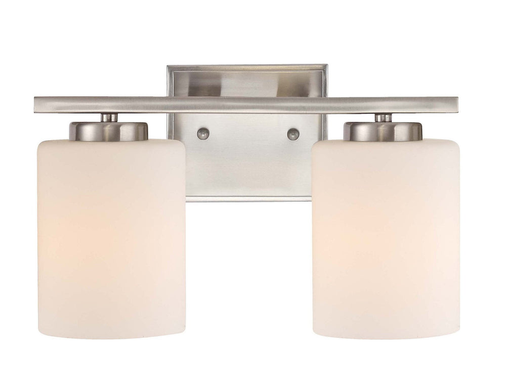 3882-09 Dolan Designs Chloe 2 Light bath bar satin nickel