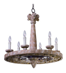 Maxim 39615SW Olde World 6-Light Chandelier