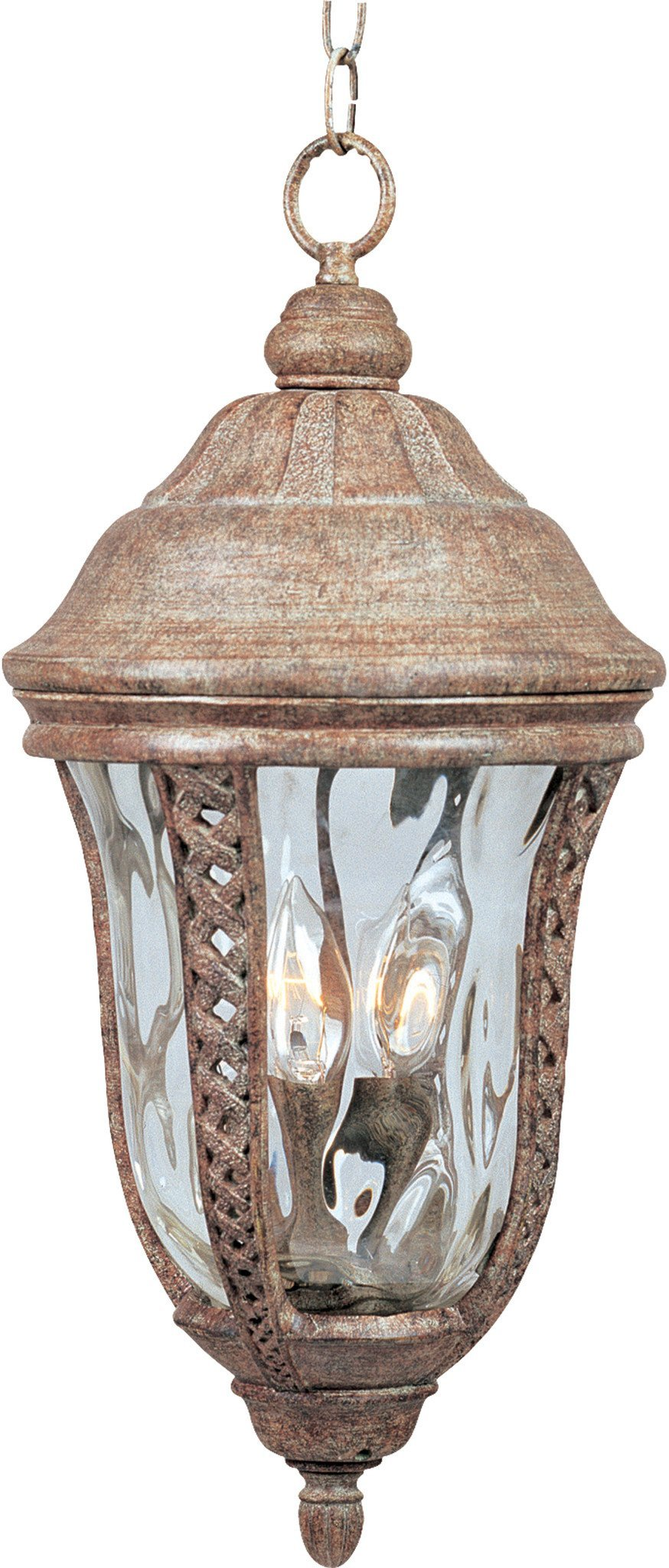 40210WGET Maxim Whittier VX 3-Light Outdoor Hanging Lantern