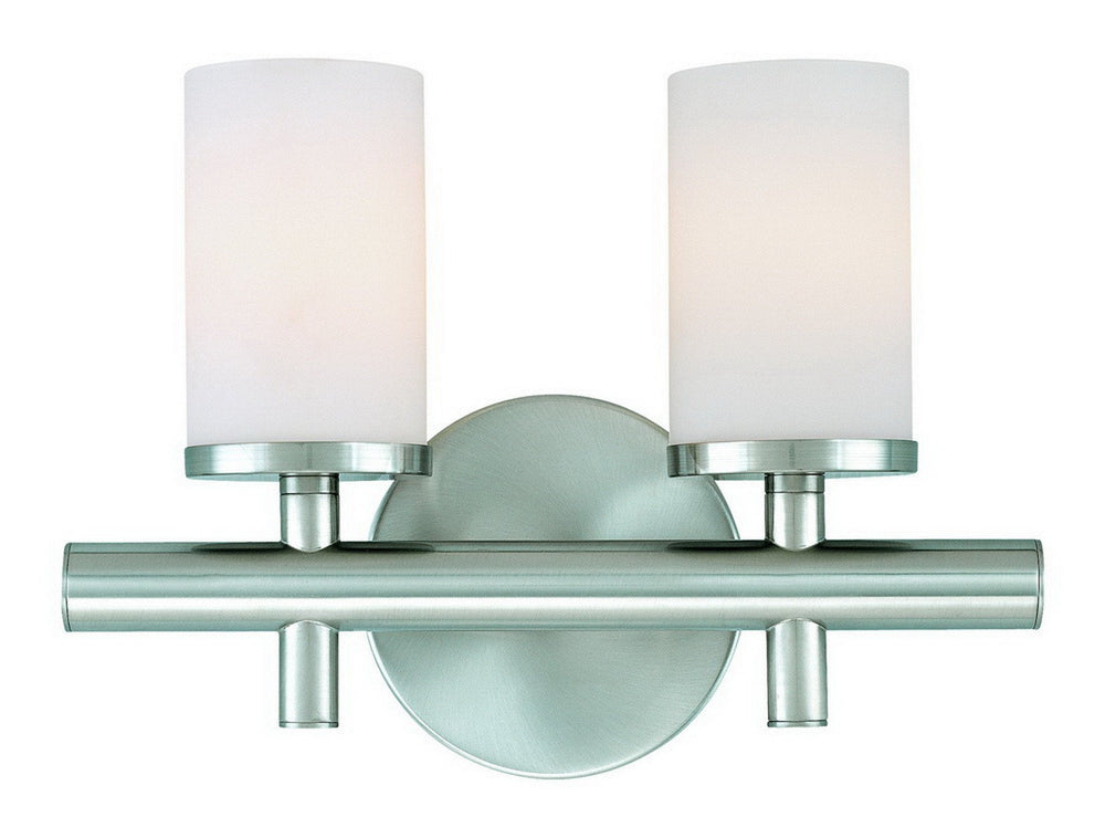 432-09 Dolan Designs Alto 2 Light Bath Satin Nickel