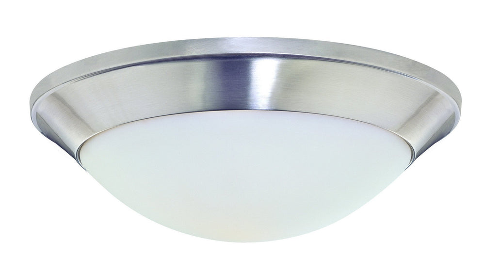 5401-09 Dolan Designs Rainier 1 Light Flushmount Satin Nickel