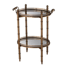 Sterling 6043717 Tyrella Gold Tray Table