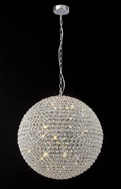 758 Lighting Originals Jewel Collection 5-Light Crystal Pendant Ball Chandelier