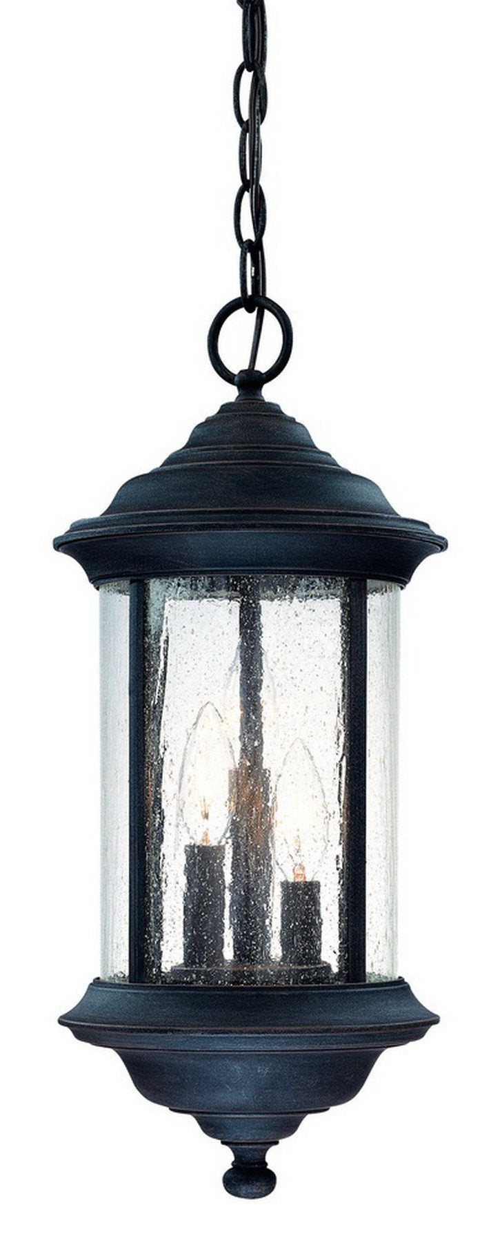 919-53 Dolan Designs Walnut Grove 3 Light Hanging Rustique