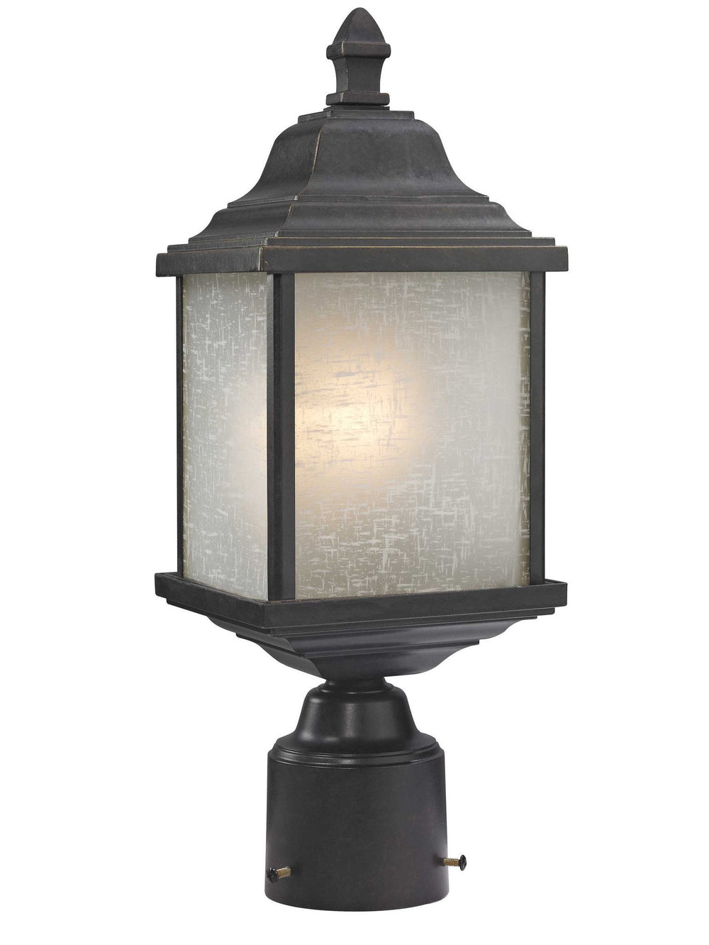 932-68 Dolan Designs Charleston 1 Light Exterior Post Winchester