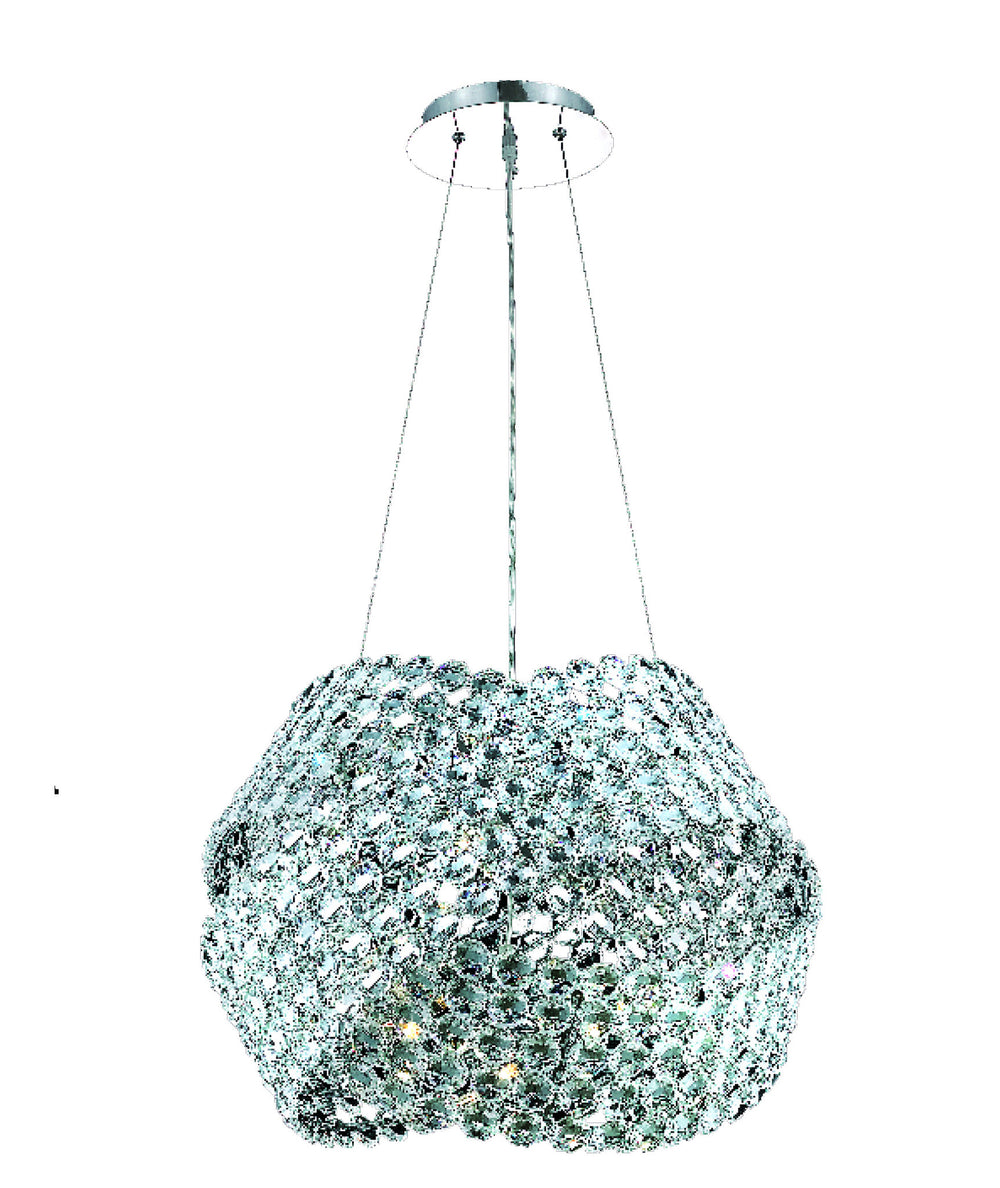 Elegant Lighting 9803D24 Electron 12 Light Chandelier