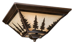 "Buy CC55514BBZ Vaxcel Yosemite 14"" Flush Mount Burnished Bronze from LightingOriginals.ca"