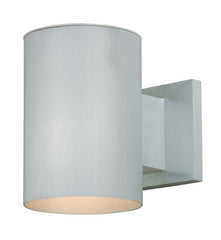 "Buy CO-OWD050SL Vaxcel Chiasso 5"" Outdoor Wall Light Satin Aluminum from LightingOriginals.ca"