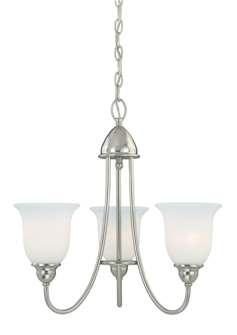 Buy H0067 Vaxcel Concord 3L Chandelier Satin Nickel from LightingOriginals.ca
