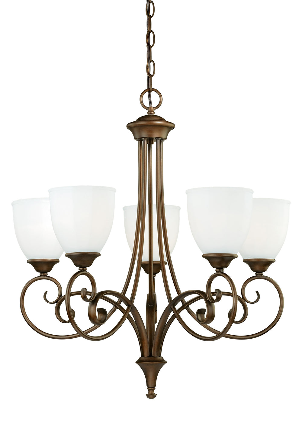 Buy H0082 Vaxcel Claret 5L Chandelier Venetian Bronze from LightingOriginals.ca