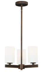 Buy H0122 Vaxcel Glendale 3L Chandelier Sienna Bronze from LightingOriginals.ca
