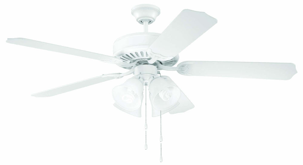 Craftmade 52 Inch Pro Builder 203 Ceiling Fan Kit Model: K10632