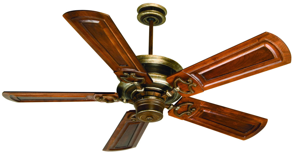 Craftmade K10783 Woodward Ceiling Fan Kit in Dark Coffee/Vintage Madera with 56
