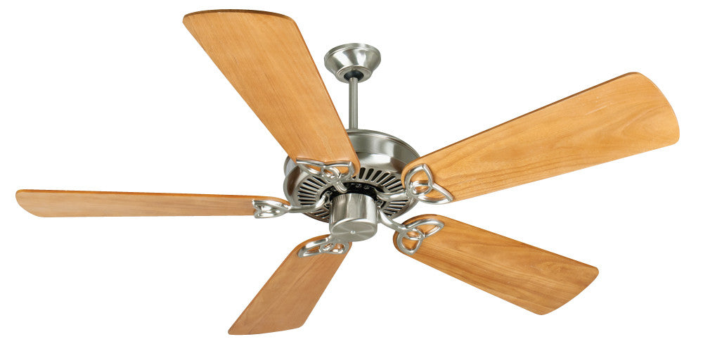 Craftmade K10985 CXL Ceiling Fan Kit in Stainless Steel with 54