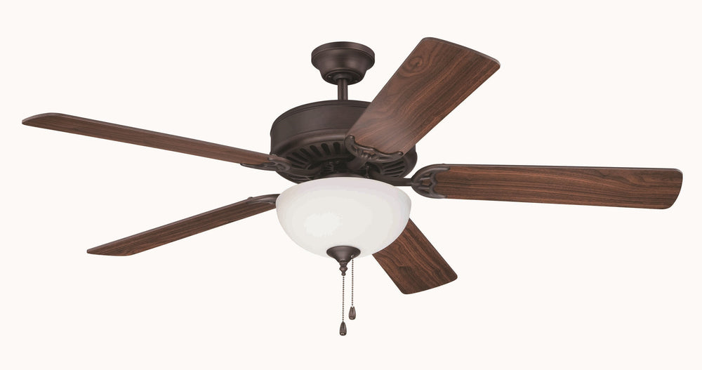 Craftmade K11101 Pro Builder 201 Ceiling Fan Kit in Aged Bronze Brushed with 52