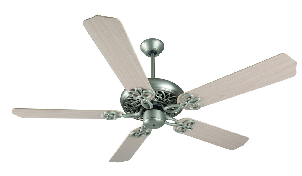 Craftmade K11138 Cecilia Ceiling Fan Kit in Brushed Satin Nickel with 52