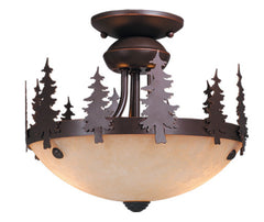 "Buy LK55512BBZ-C Vaxcel Yosemite 12"" Light Kit (Dual Mount) Burnished Bronze from LightingOriginals.ca"