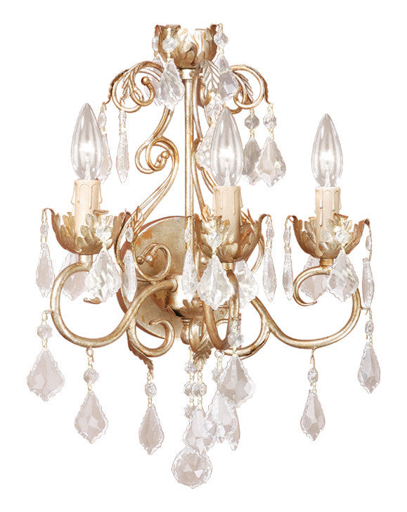 Buy NC-WLU003GW Vaxcel Newcastle 3L Wall Light Gilded White Gold from LightingOriginals.ca