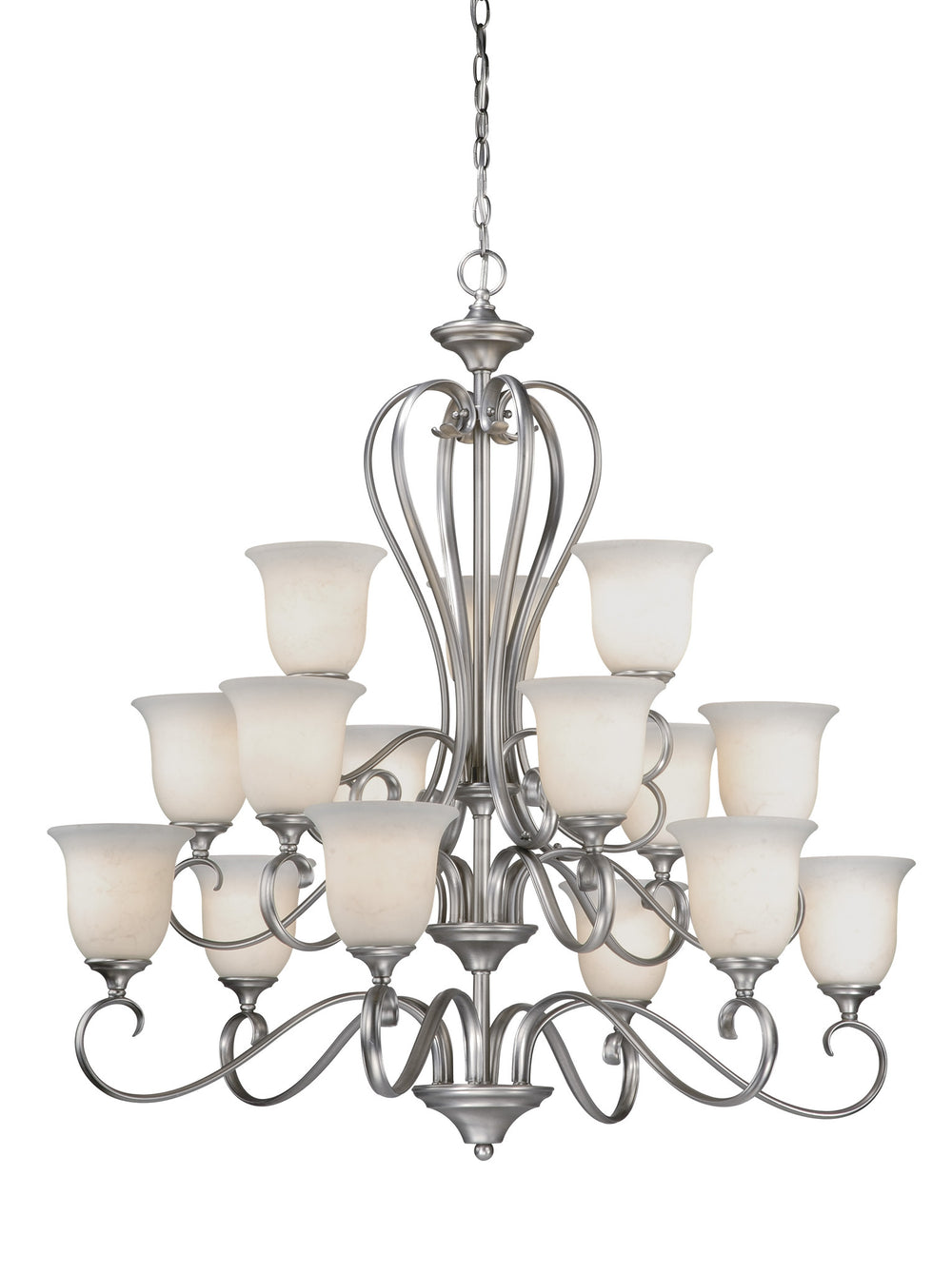 Buy RV-CHU015AP Vaxcel Riviera 15L Chandelier Antique Pewter from LightingOriginals.ca