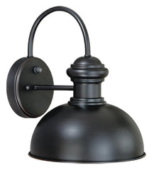 "Buy T0016 Vaxcel Franklin 10"" Outdoor Wall Light Oil Burnished Bronze from LightingOriginals.ca"