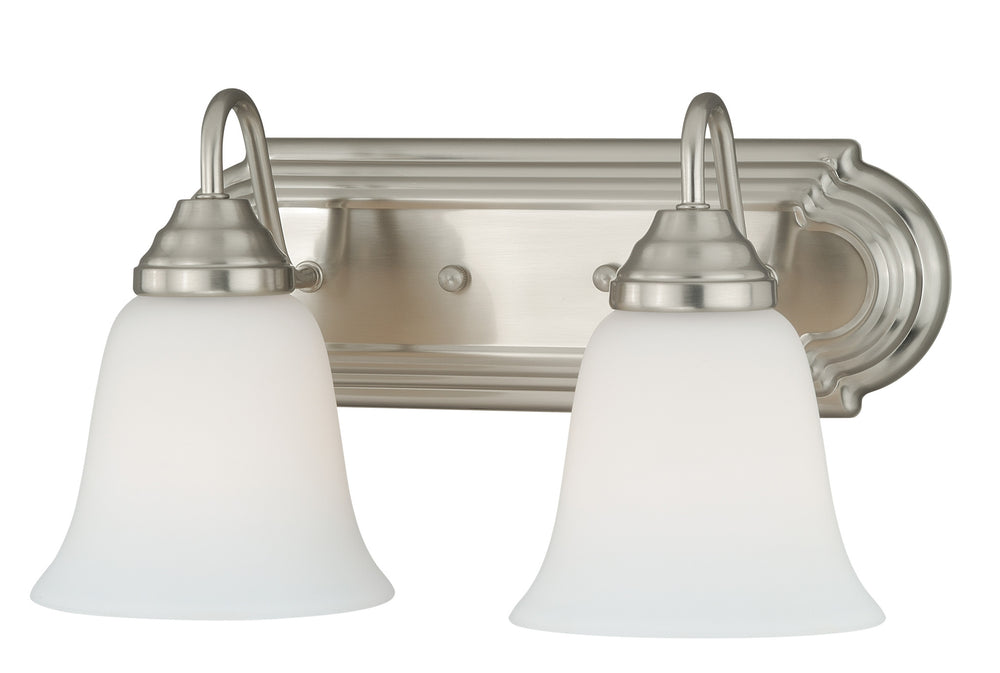 Buy W0132 Vaxcel 708 Series 2L Vanity Satin Nickel from LightingOriginals.ca