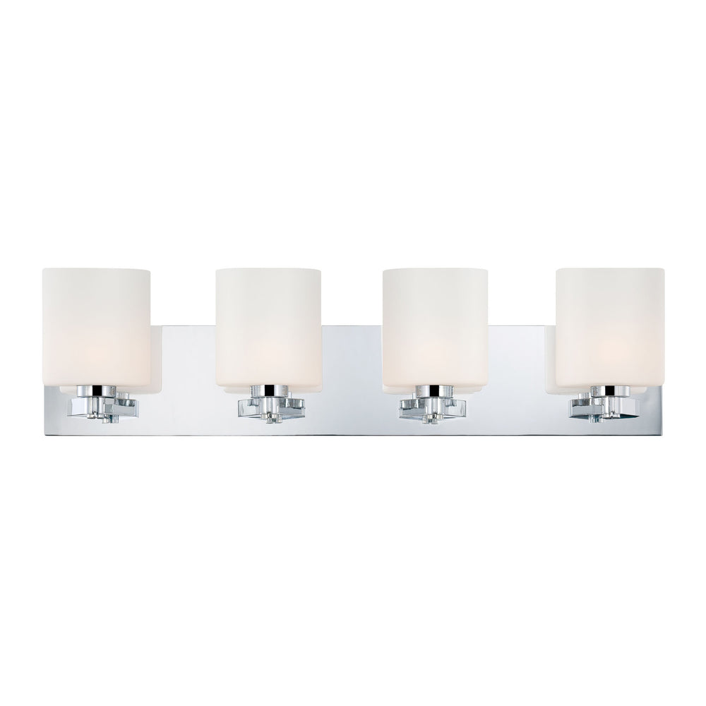 Buy BV5504-10-15 Alico Embro 4 Lite Opal Glass Pol. Chrome From Lighting Originals.ca for only $290 CDN