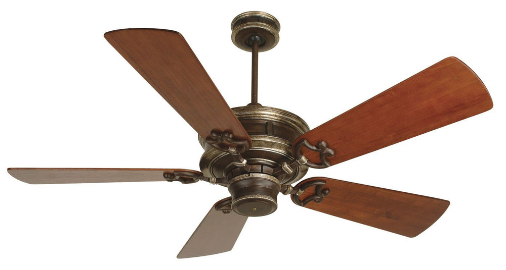 Craftmade K10214 Woodward Ceiling Fan Kit in Dark Coffee/Vintage Madera with 54