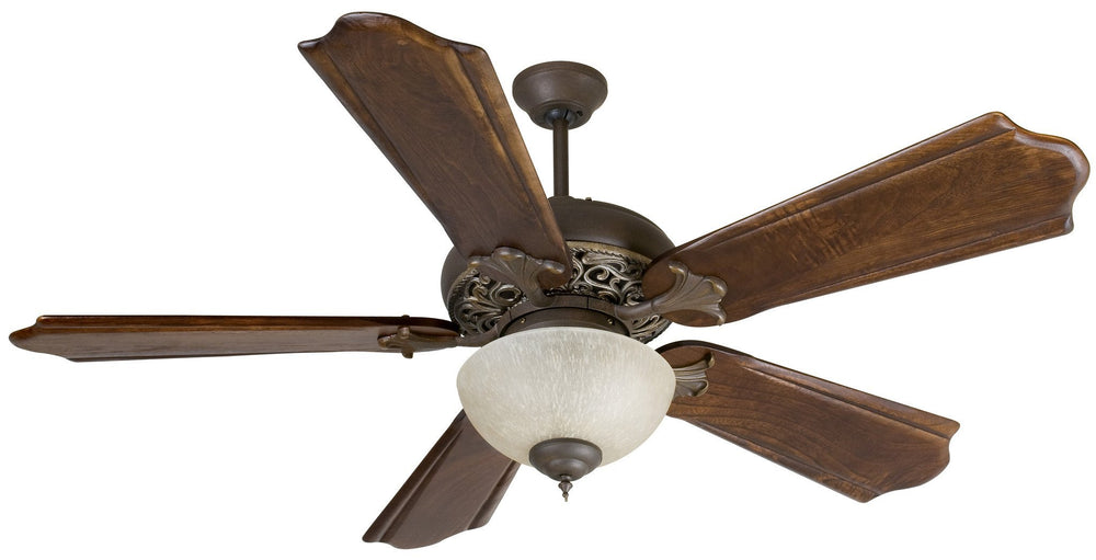 Craftmade K10323 Mia Ceiling Fan Kit in Aged Bronze/Vintage Madera with 56