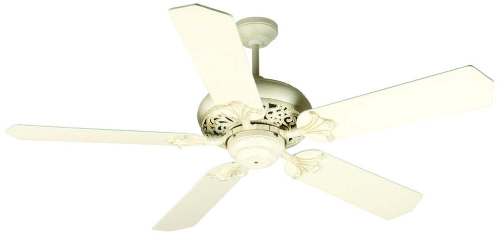 Craftmade K10325 Mia Ceiling Fan Kit in Antique White Distressed with 52