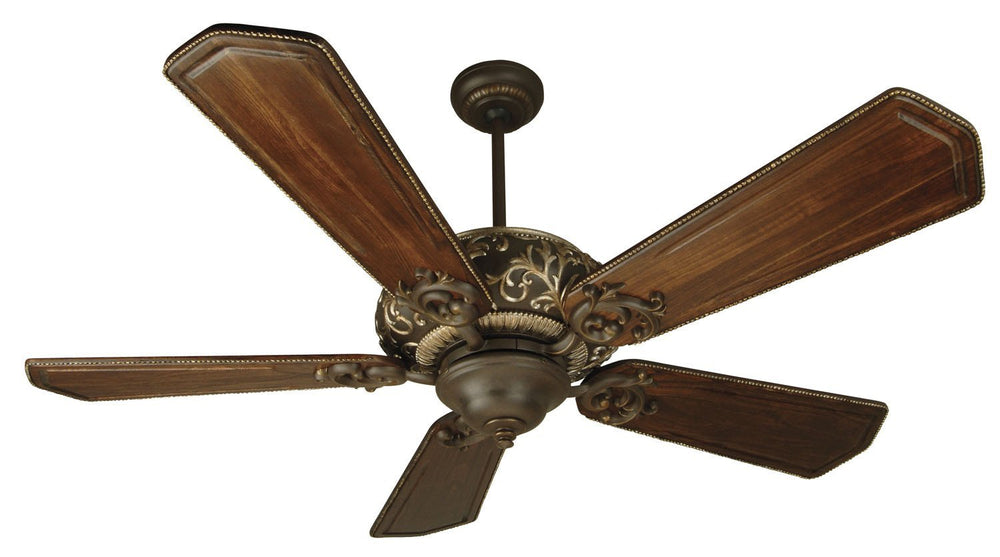 Craftmade K10327 Ophelia Ceiling Fan Kit in Aged Bronze/Vintage Madera with 56