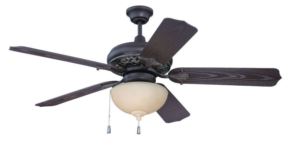 Craftmade K10335 Outdoor Mia Ceiling Fan Kit in Aged Bronze/Vintage Madera with 52