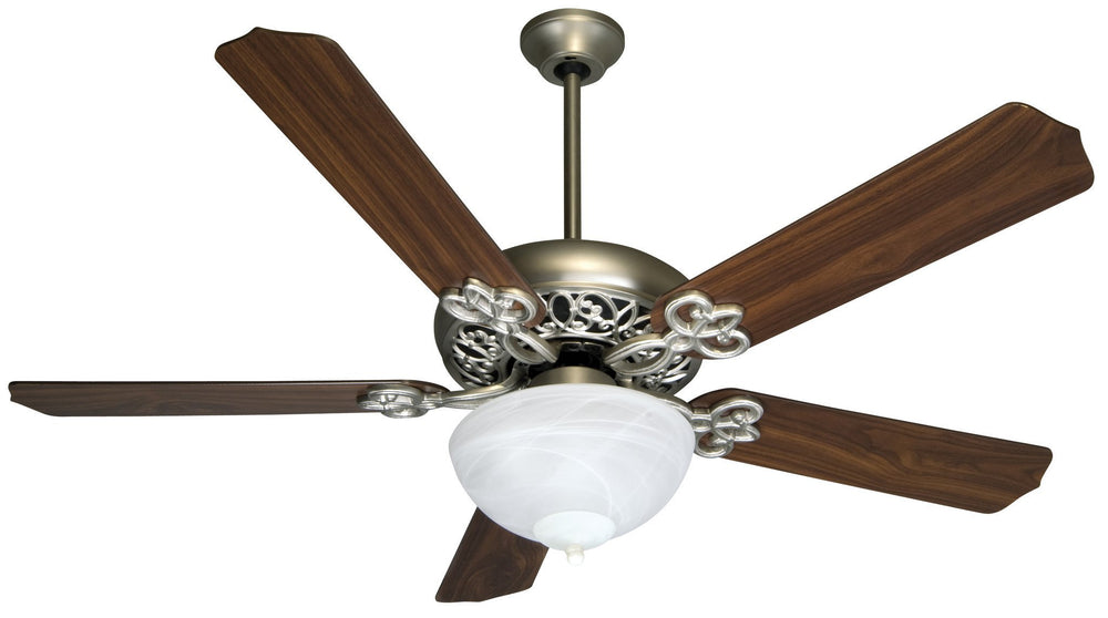 Craftmade K10438 Cecilia Unipack Ceiling Fan Kit in Brushed Satin Nickel with 52