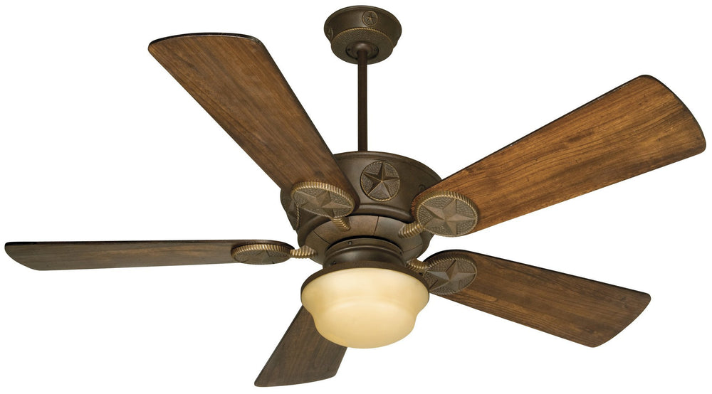 Craftmade K10510 Chaparral Ceiling Fan Kit in Aged Bronze Textured with 54