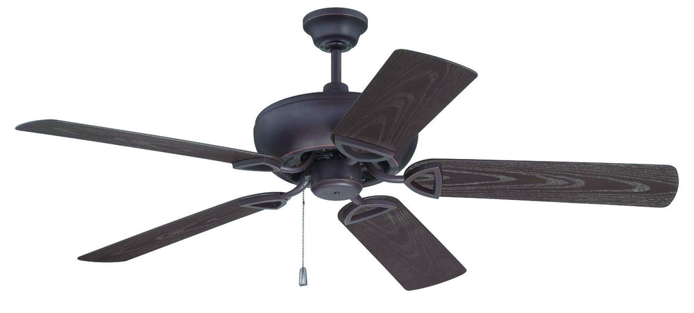 Craftmade K10519 Leeward Ceiling Fan Kit in Oiled Bronze Gilded with 52