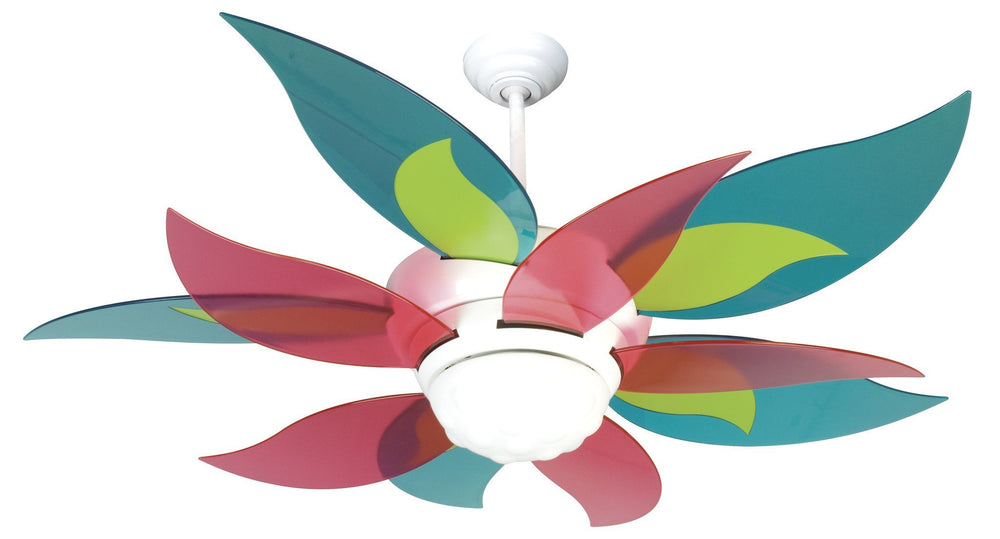 Craftmade K10613 Bloom Ceiling Fan Kit in White with 52